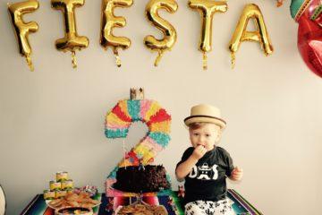 Fiesta Second Birthday Party