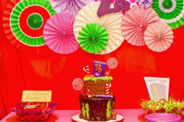Willy Wonka Birthday Party