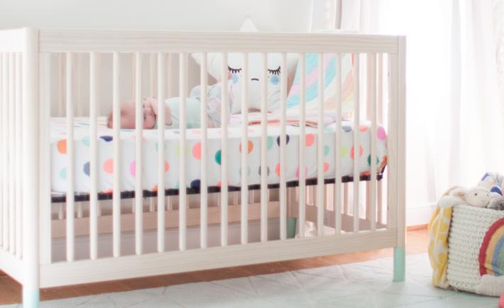 Pastel Lay Baby Lay Nursery