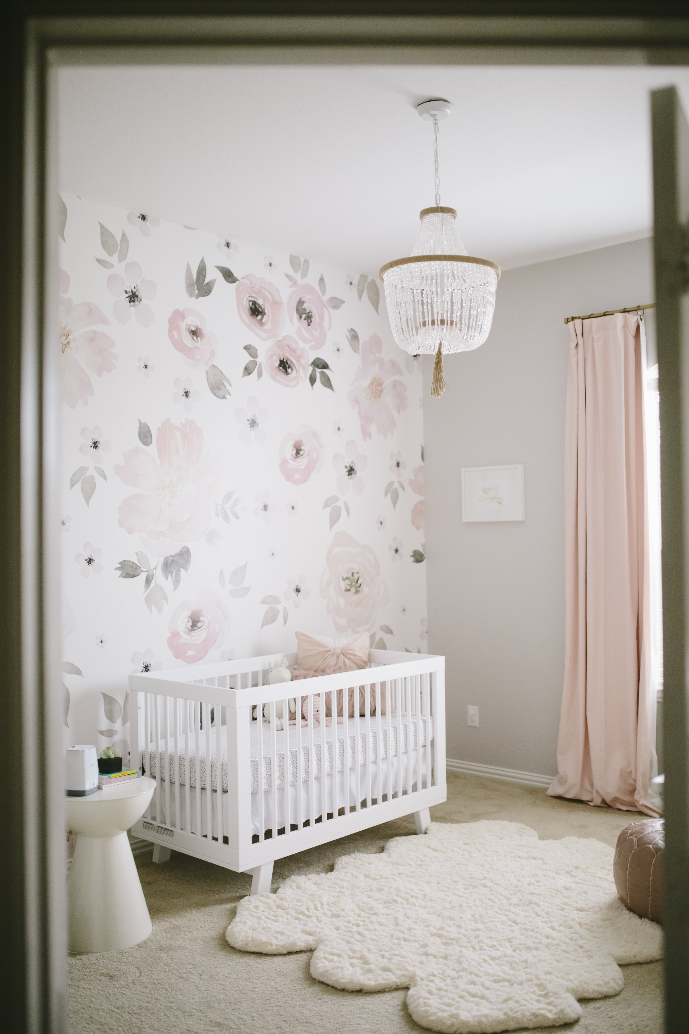 Harper's Floral Whimsy Nursery - Project Nursery