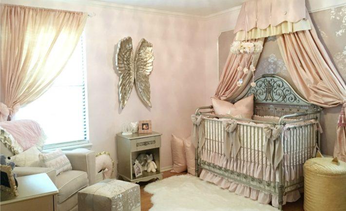 Elegant Vintage Glam Nursery