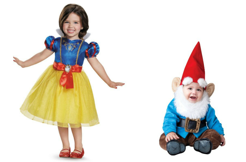 kids halloween costume ideas below snow white costume and dwarf costume