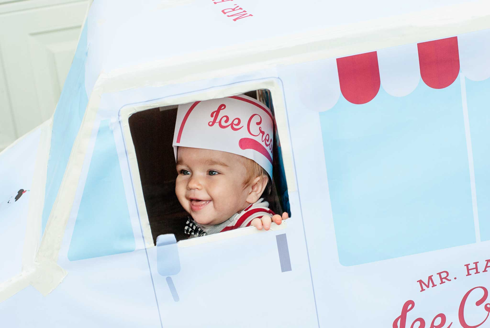 Toddler Ice Cream Man Costume