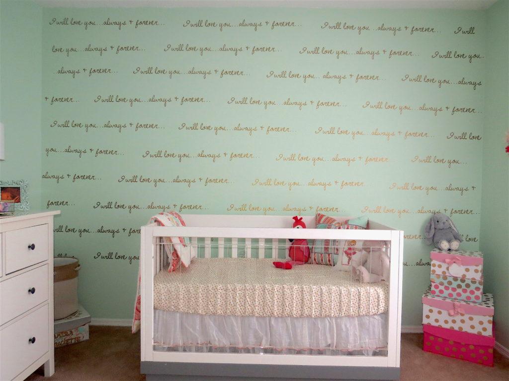 Soft Feminine Mint Blush And Gold Nursery Project Nursery
