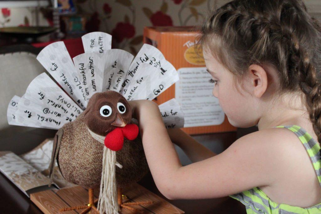 Thanksgiving Turkey Craft and Gratitude Activity