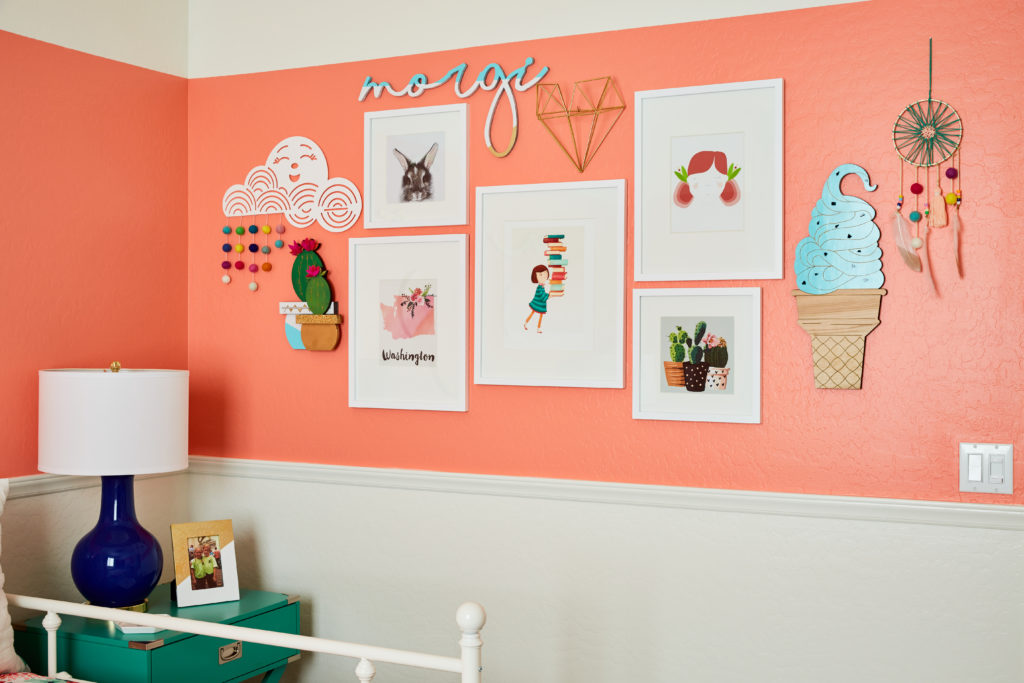 Whimsical Gallery Wall