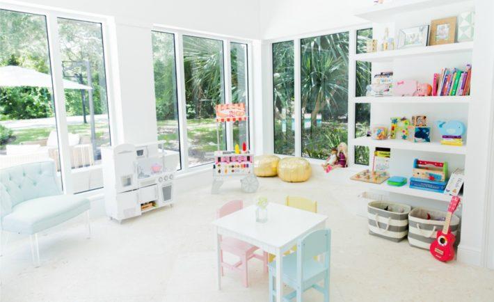 Bright and Modern Playroom