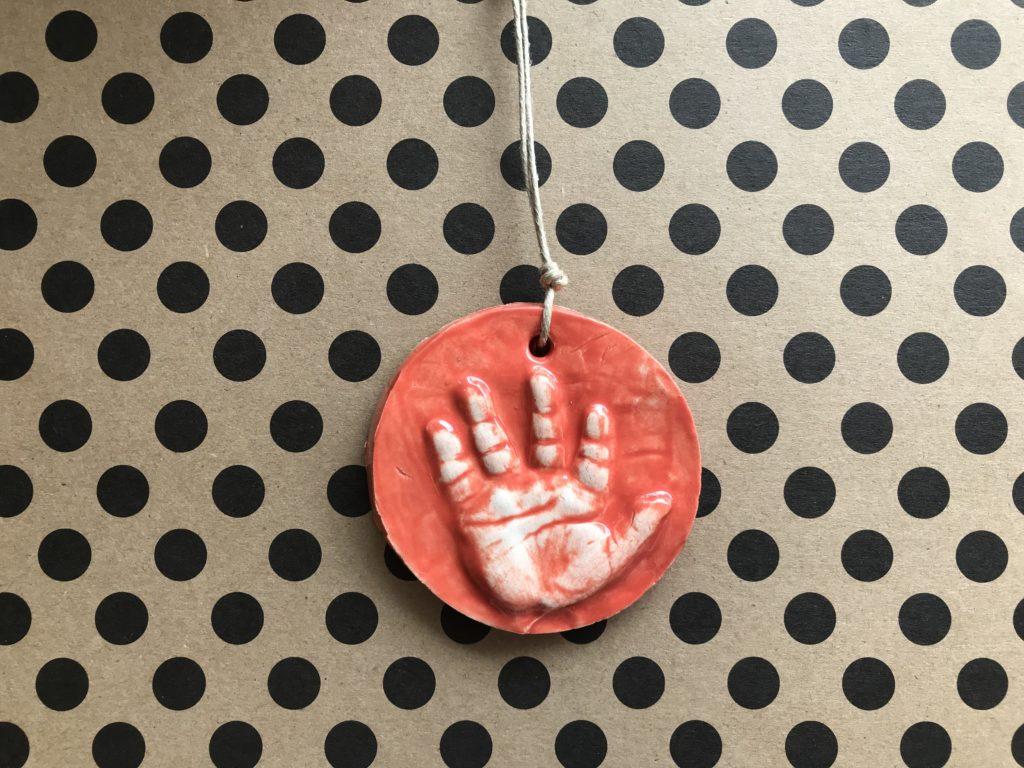 Baby handprint