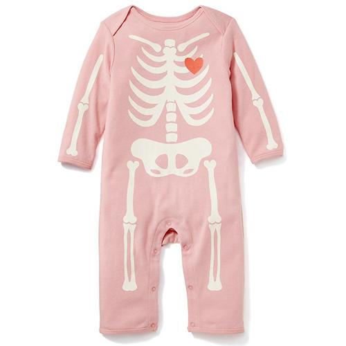 Pink Skeleton One Piece