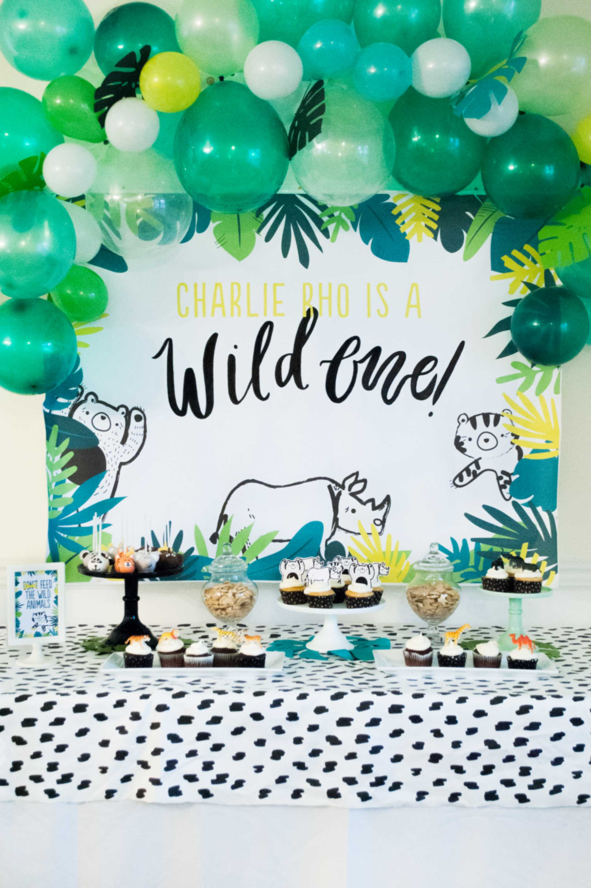 Modern Wild One First Birthday Party