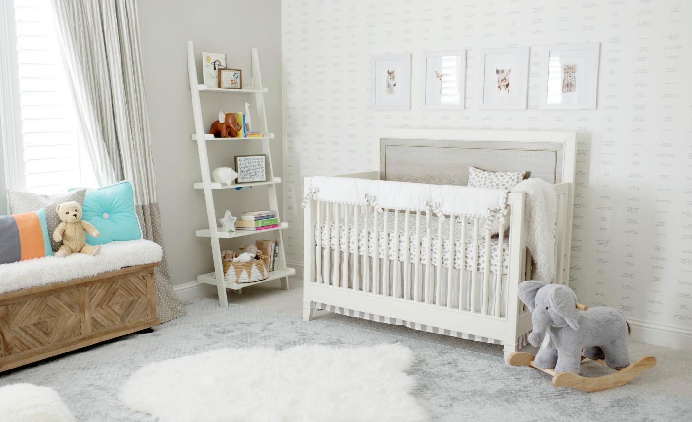 Nursery Design Trends Advice From Celebrity Designer: Celebrity Design Reveal: Catherine And Sean Lowe's Nursery