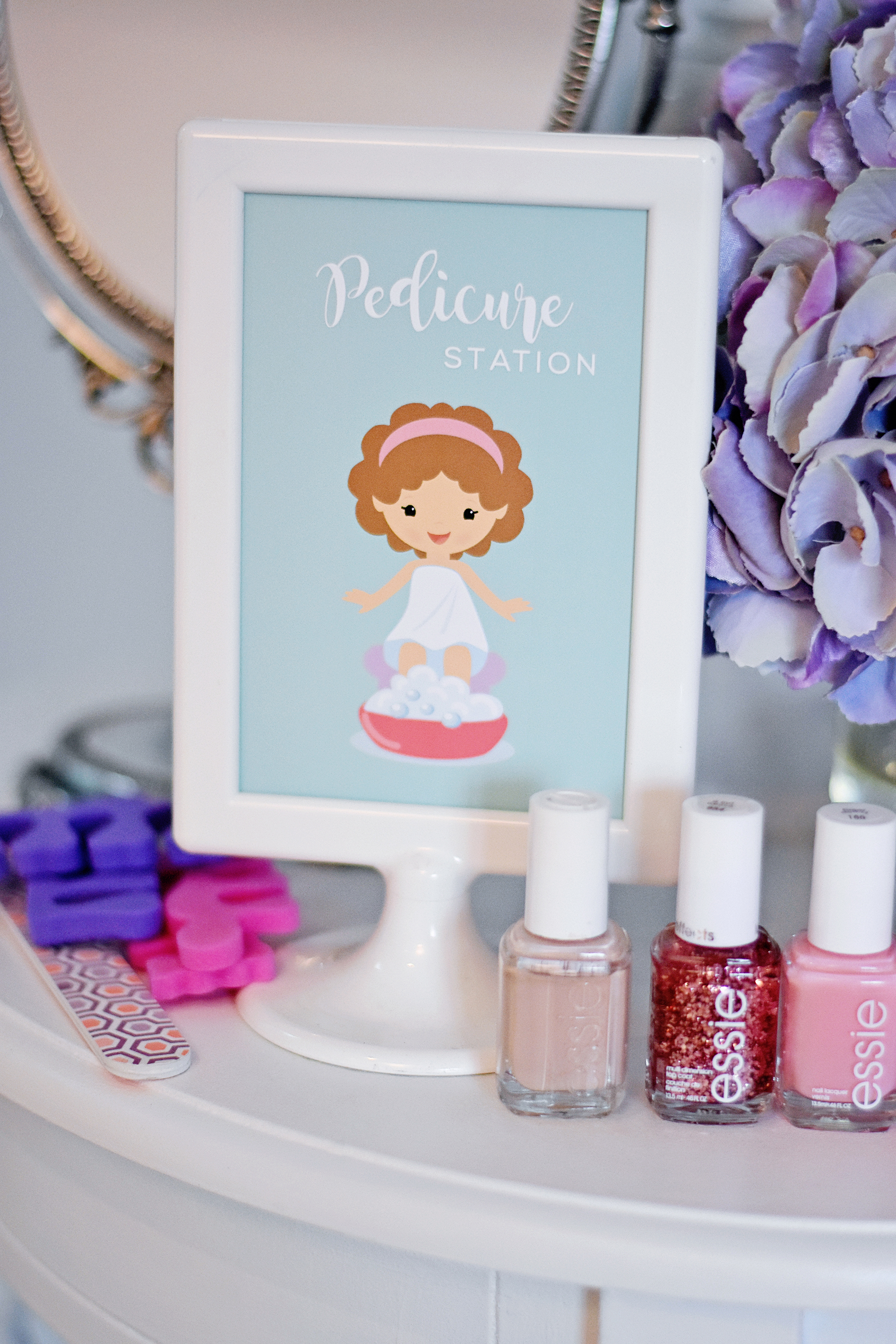 DIY Pediure Station