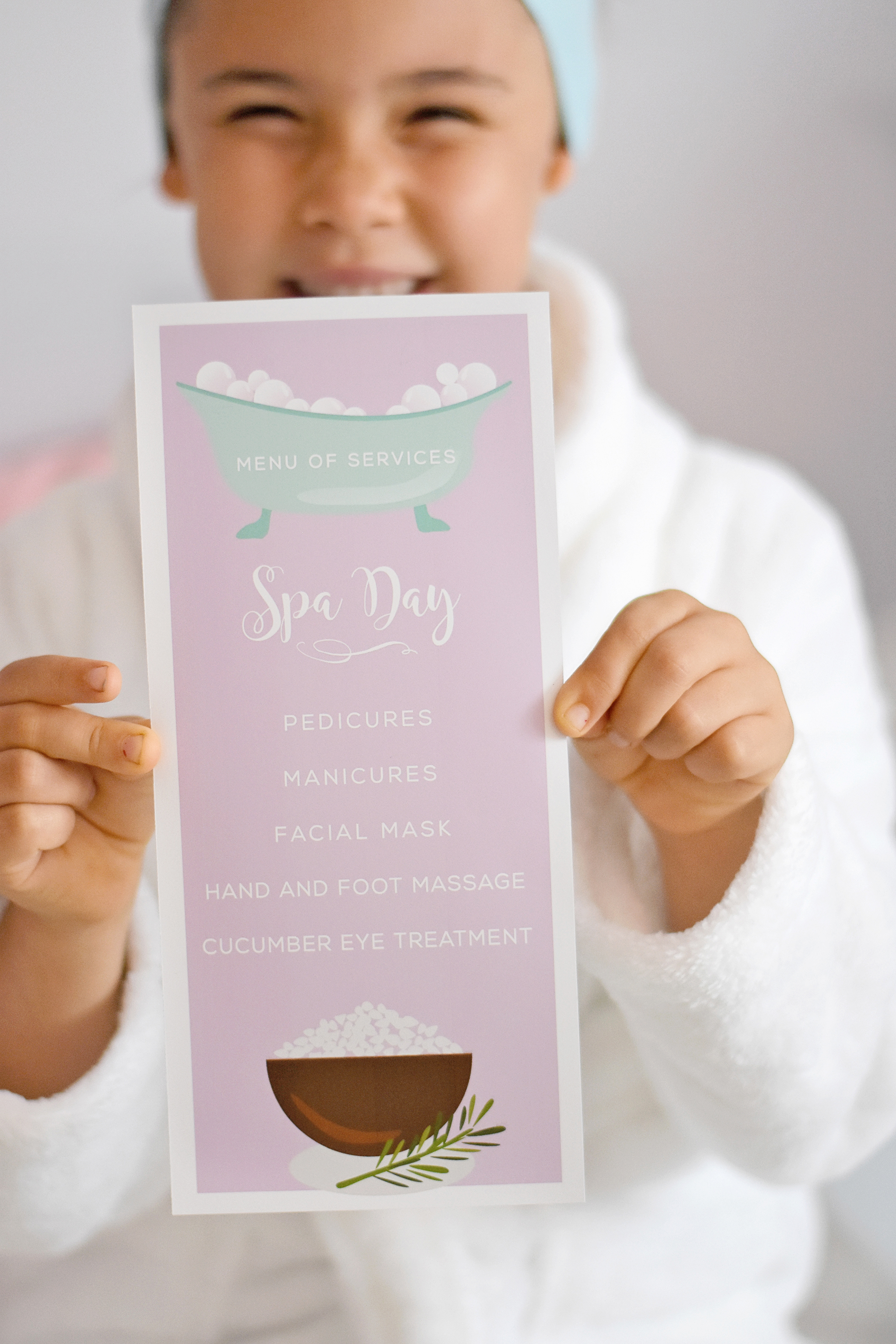 Spa Day Menu of Services