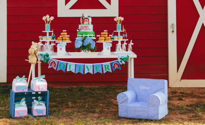 Barnyard-Themed Birthday Party - Project Nursery
