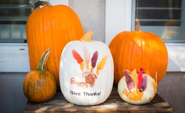 Pumpkin Turkeys Thanksgiving Craft
