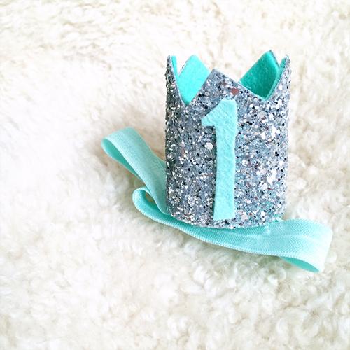 Blue Mini Sparkle Crown