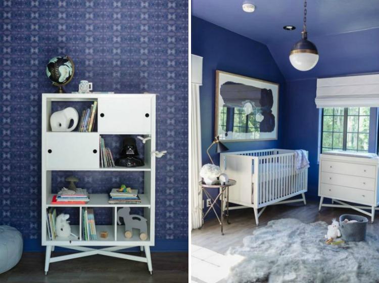 Blue and White Nursery - Project Nursery