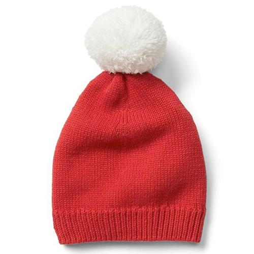 Pom Pom Elf Hat