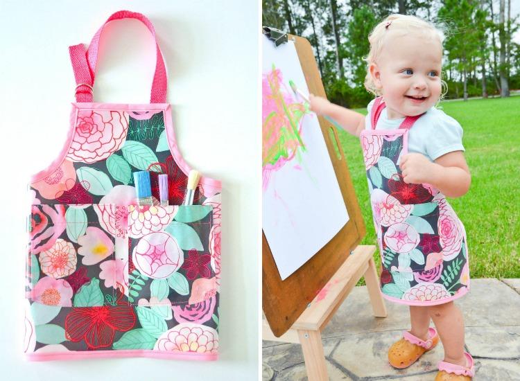 toddler-art-apron-collage