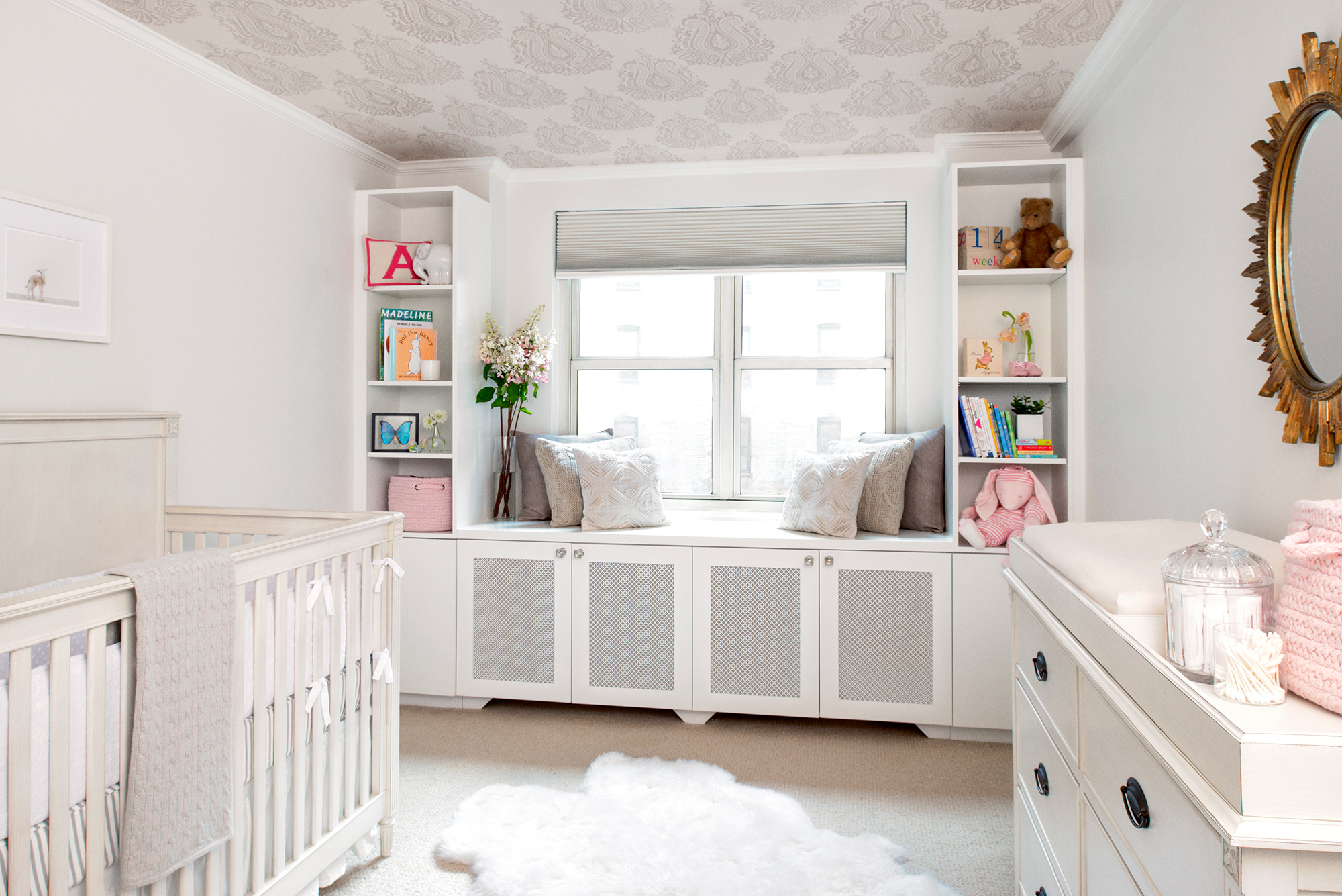 Neutral Nursery with Pops of Color - Project Nursery