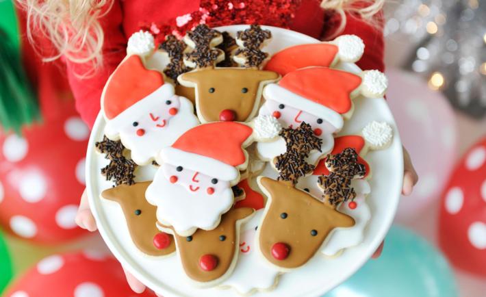 Christmas Party Sugar Cookies