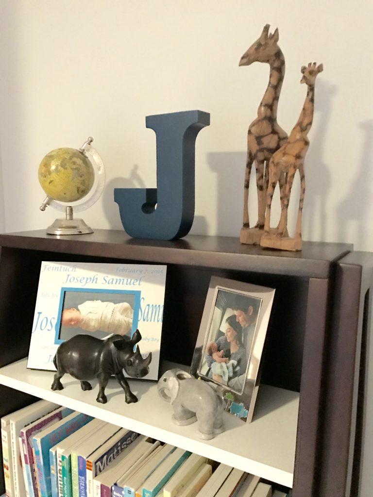 Joey S Blue And Gray Jungle Safari Nursery Project Nursery