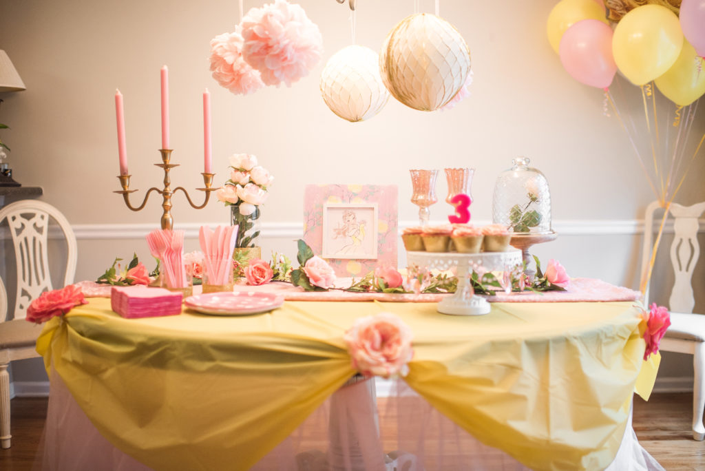 Belles Beauty And The Beast Themed Birthday Party Project Nursery