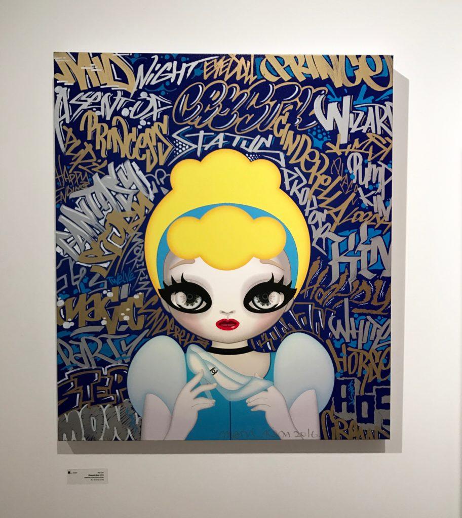 Cinderella Blue by Mari Kim