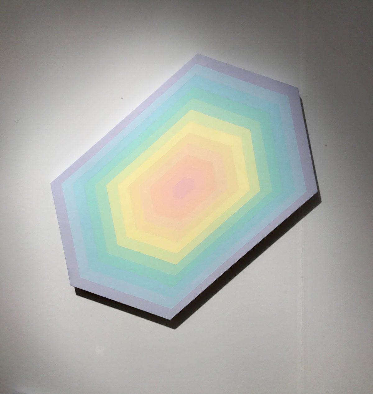 Modern Rainbow Art by Jessy Nite
