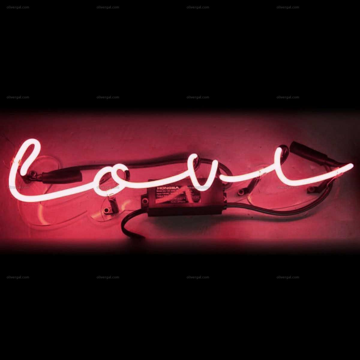 Love Neon Sign from Oliver Gal