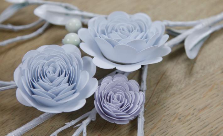 Paper Flowers Cricut