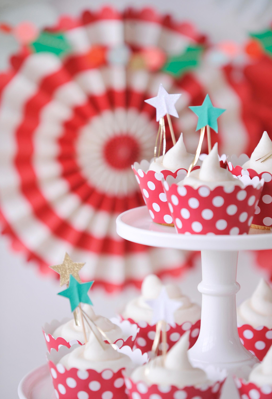 Sparkly Star Cupcakes
