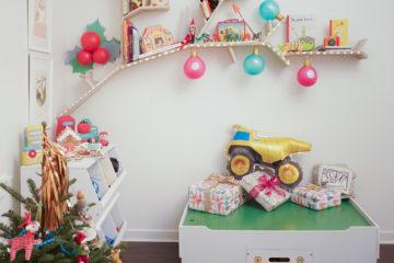 Holiday Playroom Spruce Up