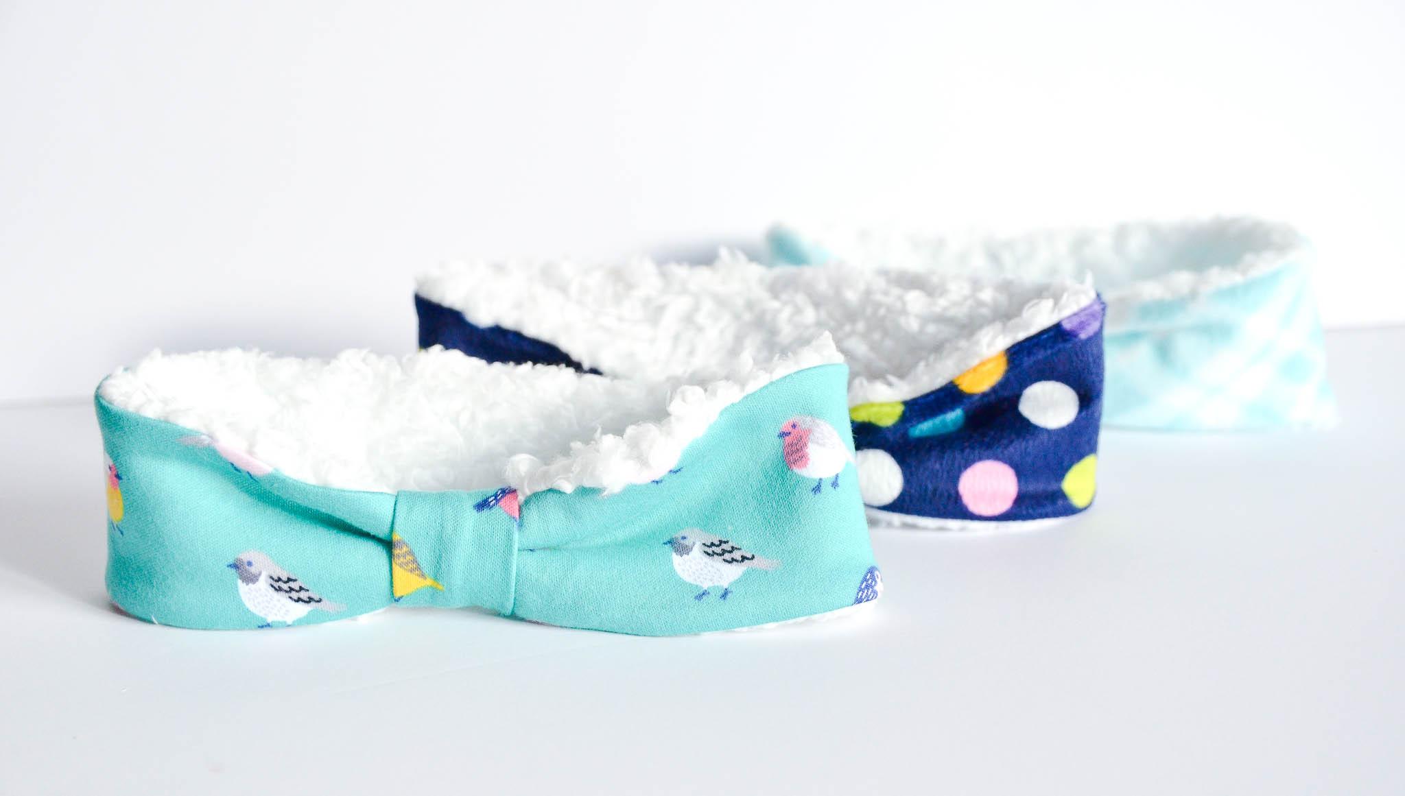 DIY Winter Headband for Baby