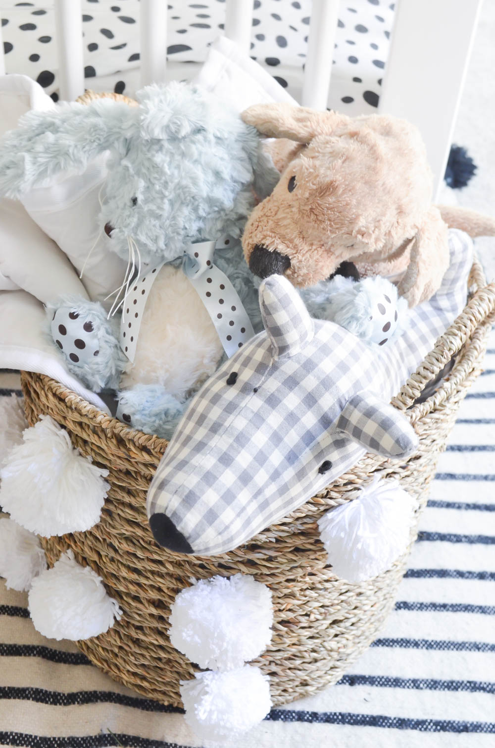 DIY Pom Pom Storage Basket
