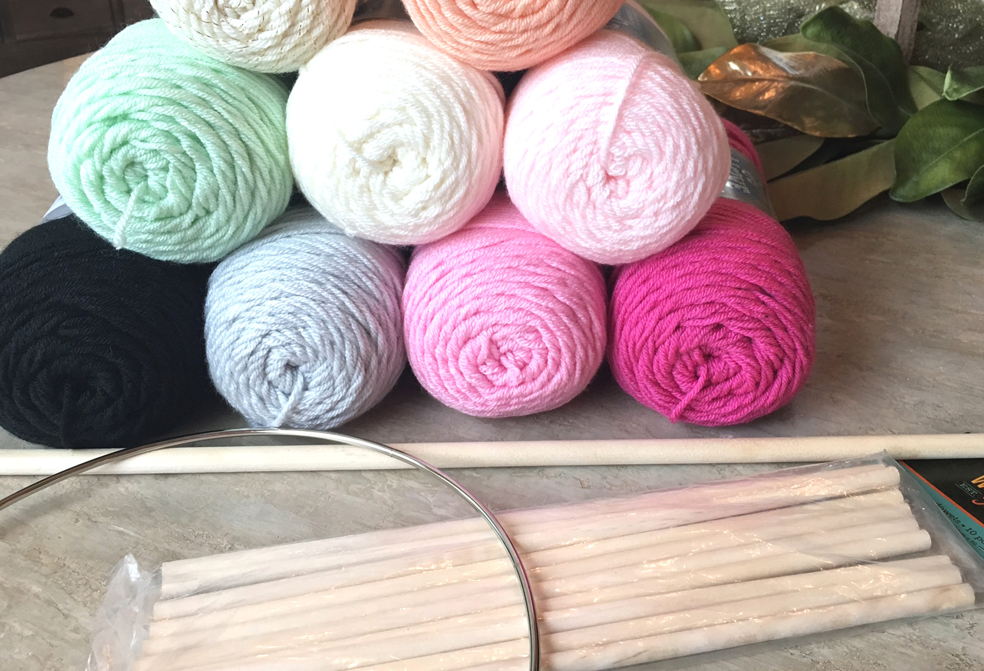 DIY Yarn Art Supplies