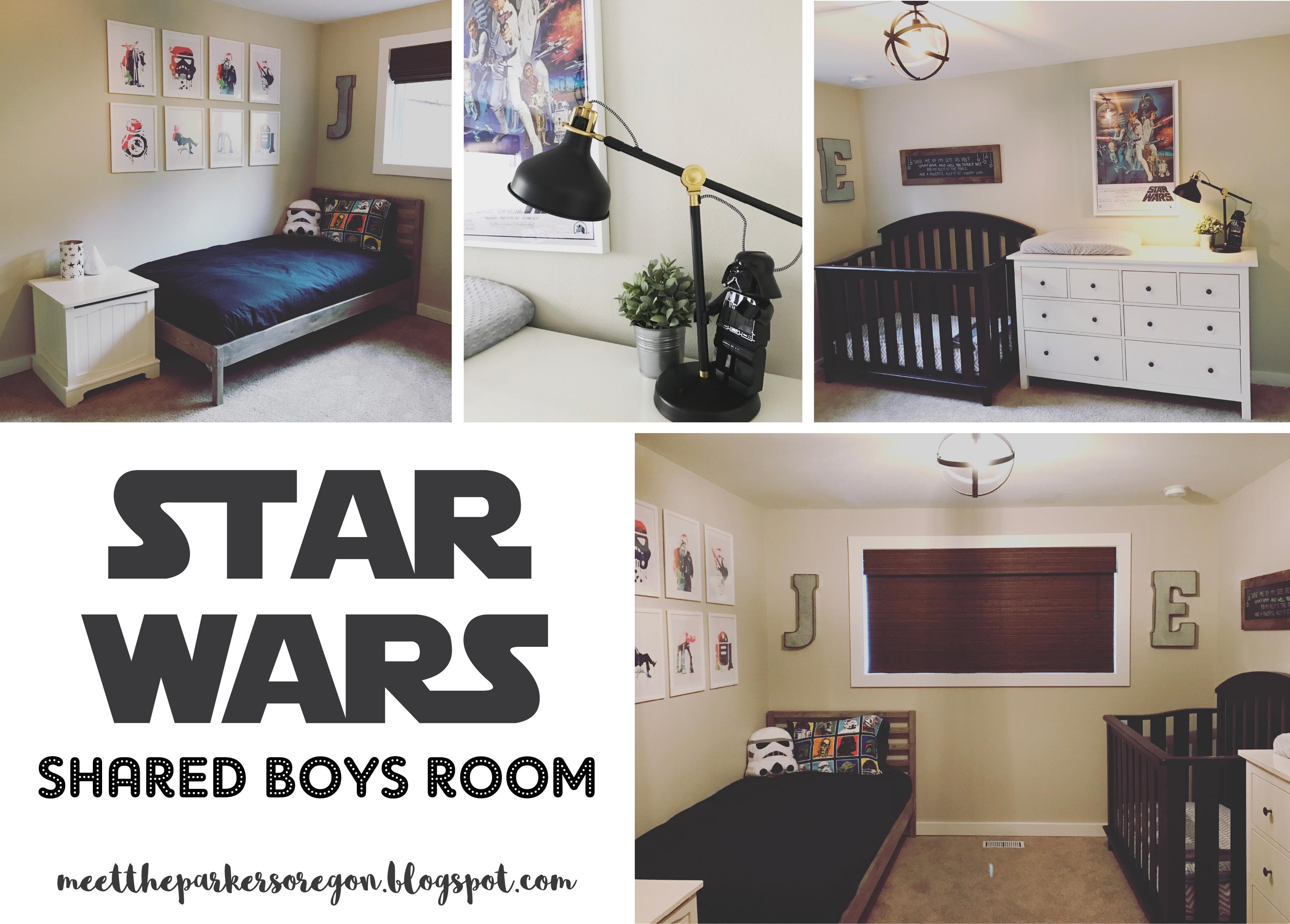 Star Wars Shared Boys Room Project Nursery