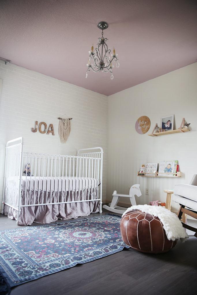 Bohemian Girls Nursery with Eclectic Decor - Project Nursery