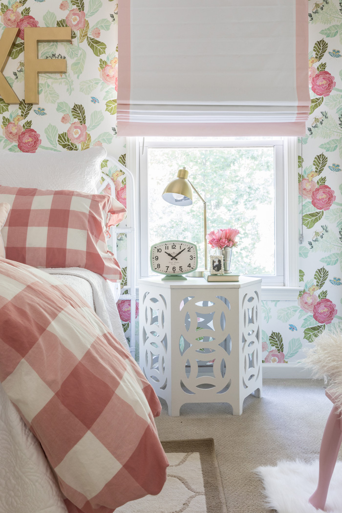 pink flower wallpaper for bedrooms a beloved nursery grows up project nursery 19483