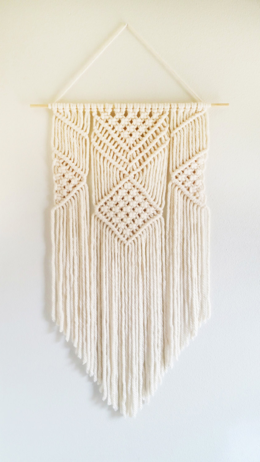 Textured Wall Hangings Are Weaving Their Way Into