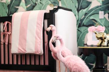 Beverly Hills Hotel Inspired Nursery