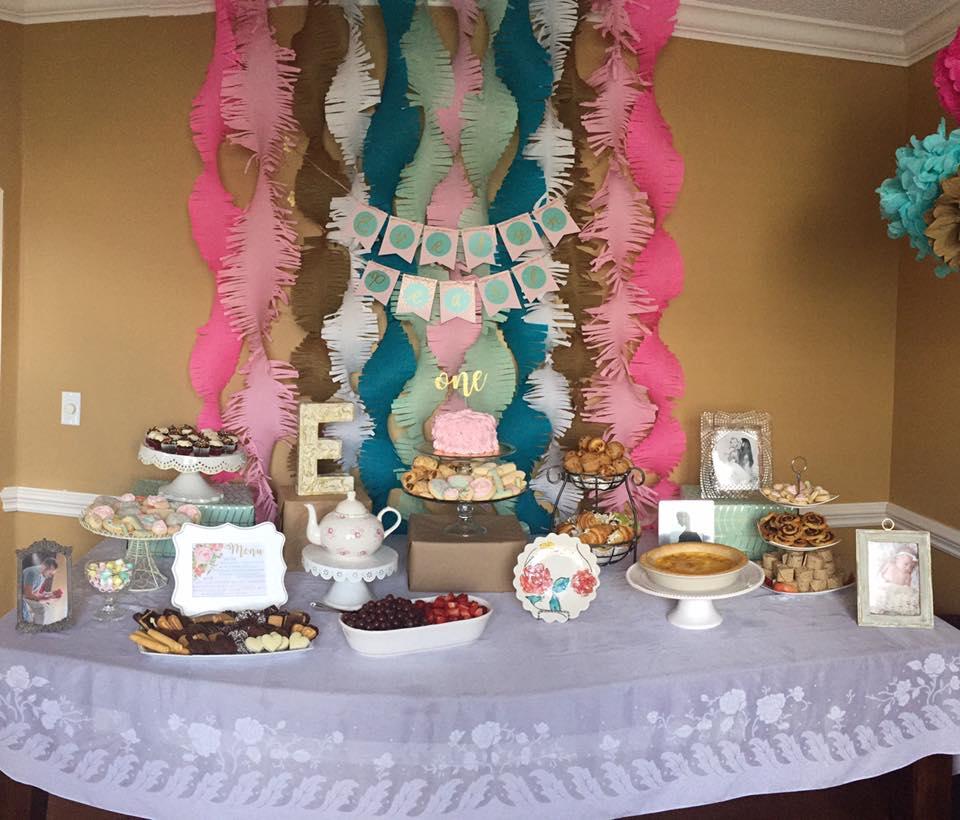 Fancy 1st Birthday Party