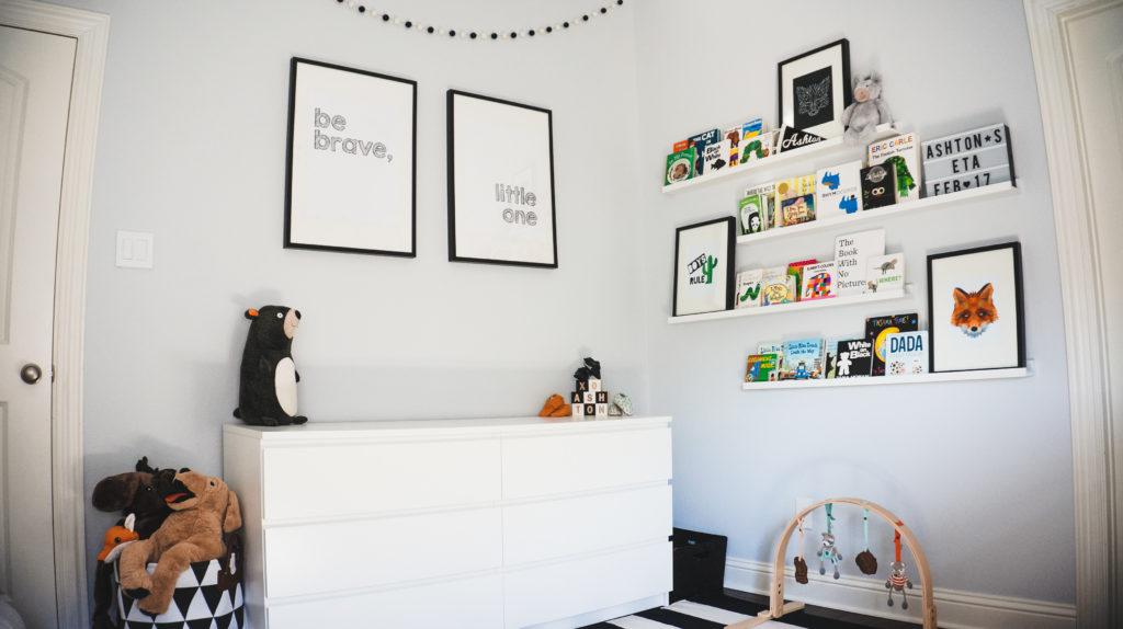 Ashton S Modern Monochrome Nursery Project Nursery