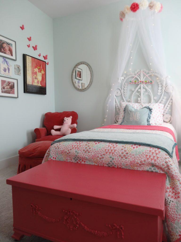 Lea S Sweet Dreams Big Girl Bedroom Project Nursery