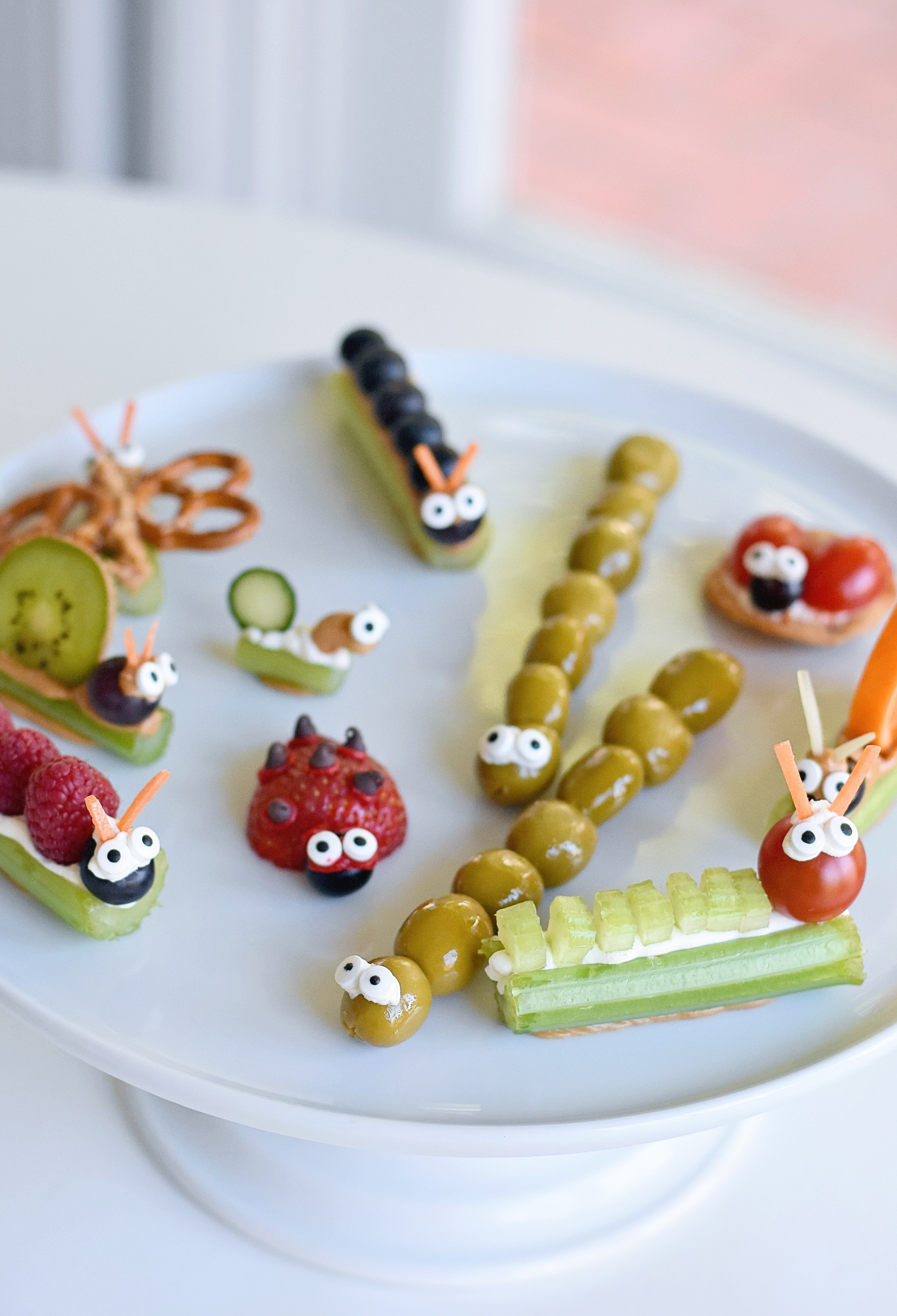 Love Bug Valentine's Day Party for Kids Bug-Themed Snacks