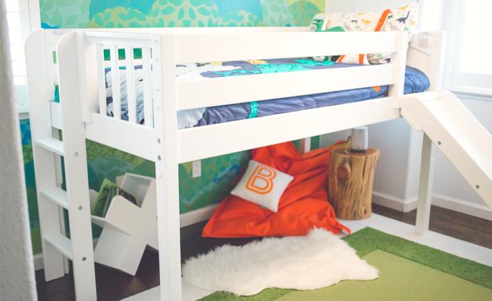 Dinosaur Modern Boy's Room