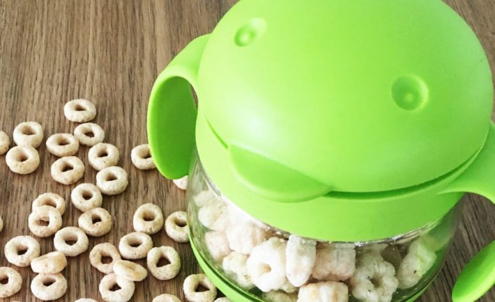 Ubbi Tweat Snack Container for Kids