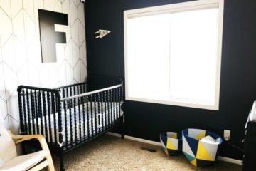 Geometric Modern Nursery