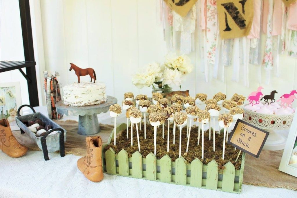 Rustic Birthday Party for Kids Cowgirl-Themed Birthday Party Treats - Project Nursery
