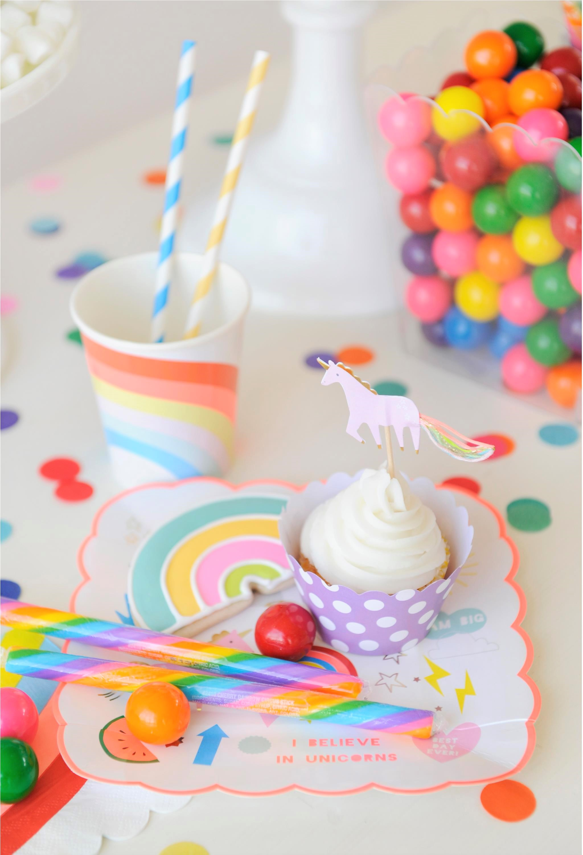 Over the Rainbow Party for Kids Colorful Kids Party Treats